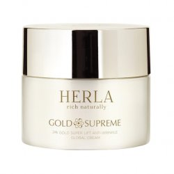 Herla 24k Gold Super Lift Anti Wrinkle Global Cream