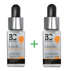 Be Ceuticals Switzerland L.A.A. 5% i  L.A.A. 25%