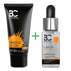 Be Ceuticals Switzerland L.A.A. 5% i Krem mineralny UV 100 ml