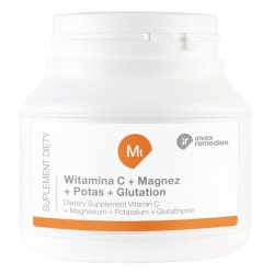 Invex Remedies SUPLEMENT DIETY MT WITAMINA C+ MAGNEZ+ POTAS+ GLUTATION 150G