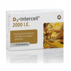 Intercell D3 2000 I.E 50 µg