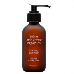 John Masters Organics Foaming Face Wash with Rose and Linden Flower