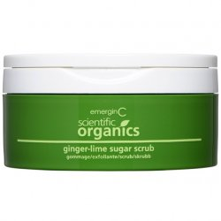EmerginC Ginger-Lime Sugar Scrub
