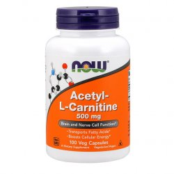 Now Foods  Acetyl-L-Carnitine - 500mg