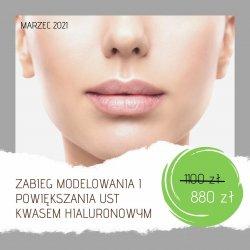 Zabieg modelowania i powiększania ust kwasem hialuronowym