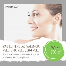 Zabieg Ferulac Valencia Peel + DNA Recovery Peel