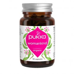 Pukka Womankind with organic B Vitamins and Shatavari