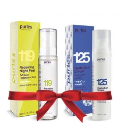 Purles 119 Repairing Night Peel + 125 HyalurSoft Cream