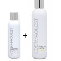 Dermaquest  Dermaclear Cleanser + Universal Cleansing Oil